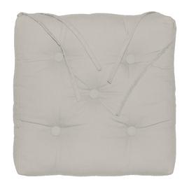 Cuscino per sedia o poltrona Elema beige 40x5 cm