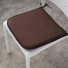 Cuscino per seduta Lastrina joy marrone 40x40 cm