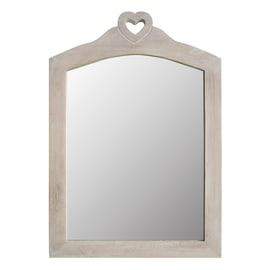 Specchio Penelope rettangolare beige 34x45 cm