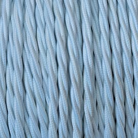 Cavo tessile MERLOTTI 2 fili x 0,75 mm² bianco 10 metri