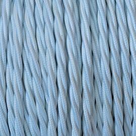 Cavo tessile MERLOTTI 3 fili x 0,75 mm² bianco 5 metri