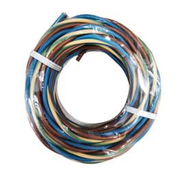 Cavo elettrico h07v-k LEXMAN 3 fili x 1 mm² Matassa 5 m marrone - blu - giallo/verde
