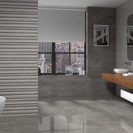 Piastrella Bellagio H 45 x L 45 cm PEI 3/5 grigio