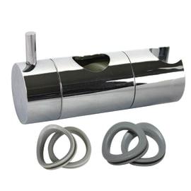Cursore SENSEA 19-22-25mm in plastica cromo