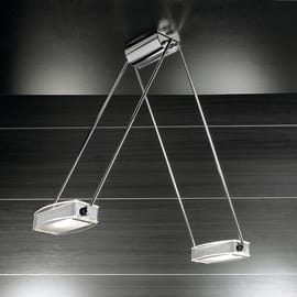 Lampadario Cassiopea trasparente, in metallo, diam. 120 cm, R7S 2xMAX200W IP20 SFORZIN