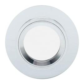 Faretto da incasso tondo Rende in vetro, trasparente, diam. 9 cm GU10 IP23 INSPIRE 1 pezzi