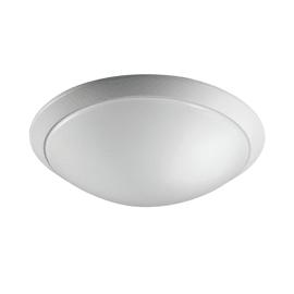 Plafoniera Moon bianco, in metallo, 45.5x45.5 cm, IP20