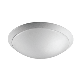Plafoniera Moon bianco, in metallo, 9x32.5 cm, IP20