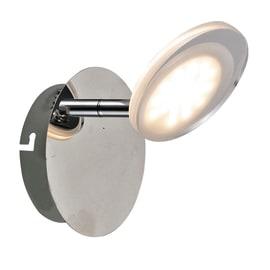 Faretto completo Loob cromo, in metallo, LED integrato 5W 400LM IP20 INSPIRE