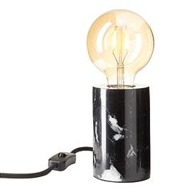 Lampada da tavolo Ralee nero, in ceramica, E27 MAX 60W IP20 INSPIRE