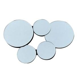 Specchio Meghan rettangolare grigio 54x36 cm