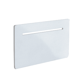 Applique Alma bianco, in metallo, 12x20 cm, LED integrato 4W