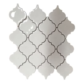Mosaico Antik H 29.1 x L 27.7 cm bianco