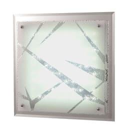 Plafoniera Galaxy bianco, in vetro, diam. 45, LED integrato 21W IP20