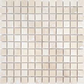 Mosaico Byzance H 30.5 x L 30 cm beige