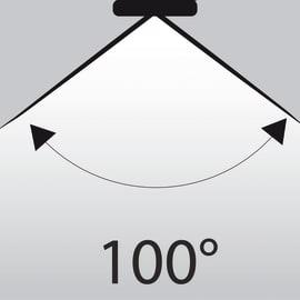 Lampadina LED GU10 a u bianco caldo 5.3W = 460LM (equiv 50W) 100° LEXMAN