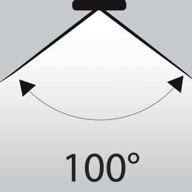 Lampadina LED GU10 riflettore bianco naturale 5W = 345LM (equiv 50W) 100° LEXMAN