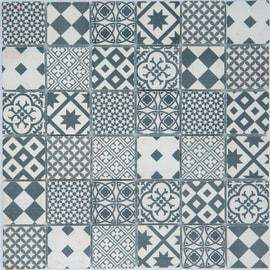 Mosaico Cementina H 30 x L 30 cm bianco, grigio