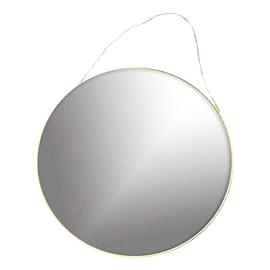 Specchio Sharon tondo oro 49x49 cm