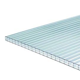 Lastra ONDULINE Alveolare Onduclair PCMW in policarbonato H 98 x L 200 cm, Sp 10 mm