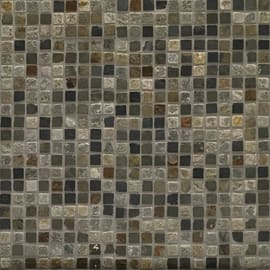 Mosaico Ardesia H 30 x L 30 cm multicolore