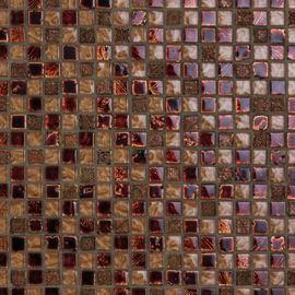 Mosaico Moka H 30 x L 30 cm rame, marrone, beige