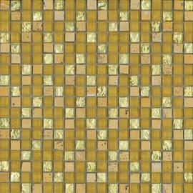 Mosaico Crystal H 30 x L 30 cm oro