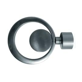 Finale per bastone Ø20mm Danau cerchio. in metallo cromo INSPIRE