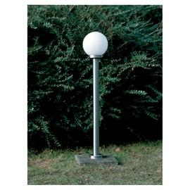 Lampione Aalborg H105cm LED integrato in metallo acciaio 5.8W 630LM IP44