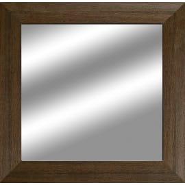 Specchio 2080 quadrato wengé 35x35 cm