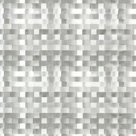 Pellicola Intreccio grigio / argento 0.45x2 m