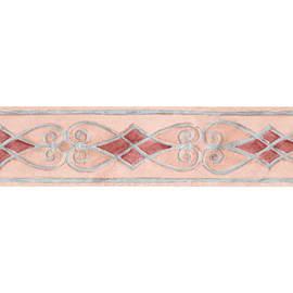 Bordo Atene rosa 10.6 cm x 5 m