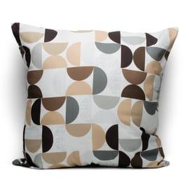 Fodera per cuscino Cerchi marrone 60x60 cm