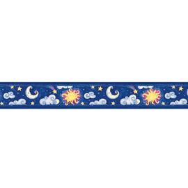 Bordo Cielo e luna multicolore 9.6 cm x 5 m