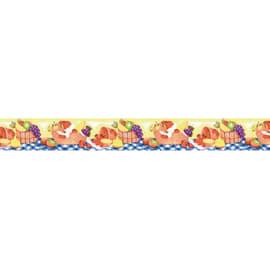Bordo Frutta multicolore 9.6 cm x 5 m