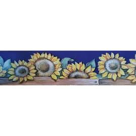 Bordo Girasoli multicolore 5.3 cm x 5 m
