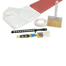 Kit di spazzole 7pz con plafoncino 7 pezzi