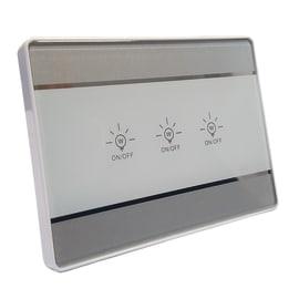 Pannello di controllo switch domotico 3 interruttori