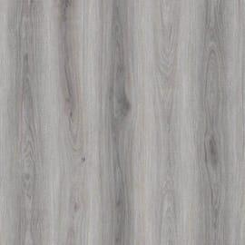 Pavimento pvc flottante clic+ Camden Light Grey Sp 4.2 mm grigio / argento