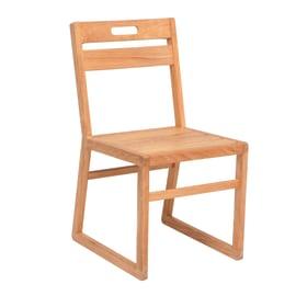 Sedia in legno Resort NATERIAL colore teak