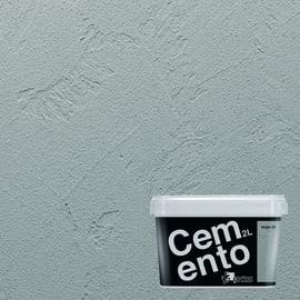 Pittura decorativa Cemento 2 l grigio 3 effetto cemento