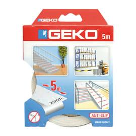 Nastro antiscivolo Geko 2 mm x 5 m bianco