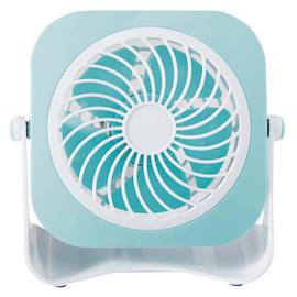 Ventilatore EQUATION Yea blu 3 W Ø 10 cm