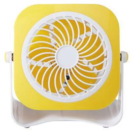 Ventilatore EQUATION Yea  giallo 3 W Ø 10 cm