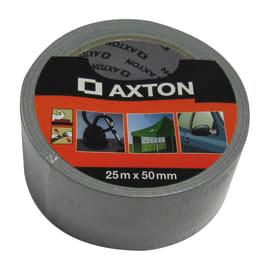 Nastro adesivo AXTON 50 mm x 25 m argento