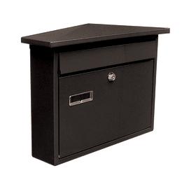 Cassetta postale STANDERS formato Lettera, nero, L 27 x P 36 x H 8 cm