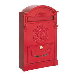 Cassetta postale formato Rivista, rosso, L 26 x P 9 x H 41 cm