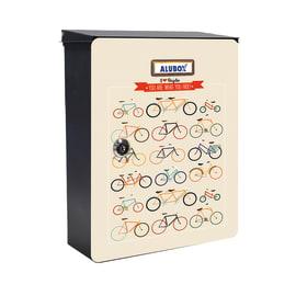 Cover per cassetta postale Mia Biciclette in lamiera in acciaio L 27 x H 37 cm