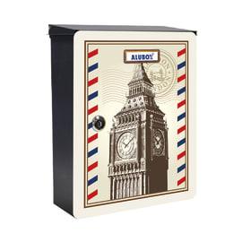 Cover per cassetta postale Mia Big Ben in lamiera in acciaio L 27 x H 37 cm