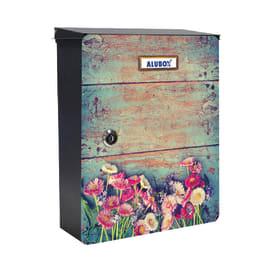 Cover per cassetta postale Mia Fiori in lamiera in acciaio L 27 x H 37 cm